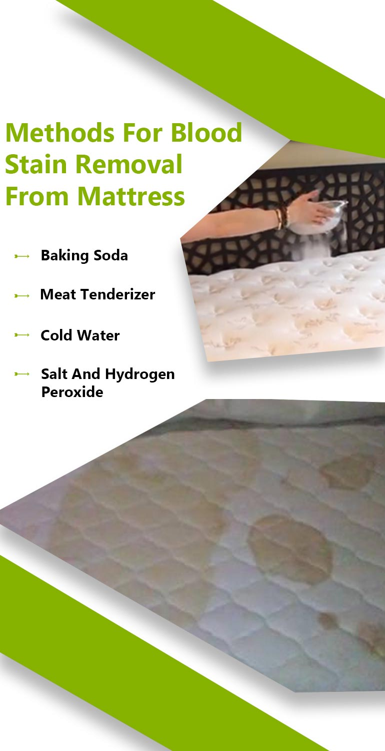 How To Get Rid Of Blood Stains In My Mattress